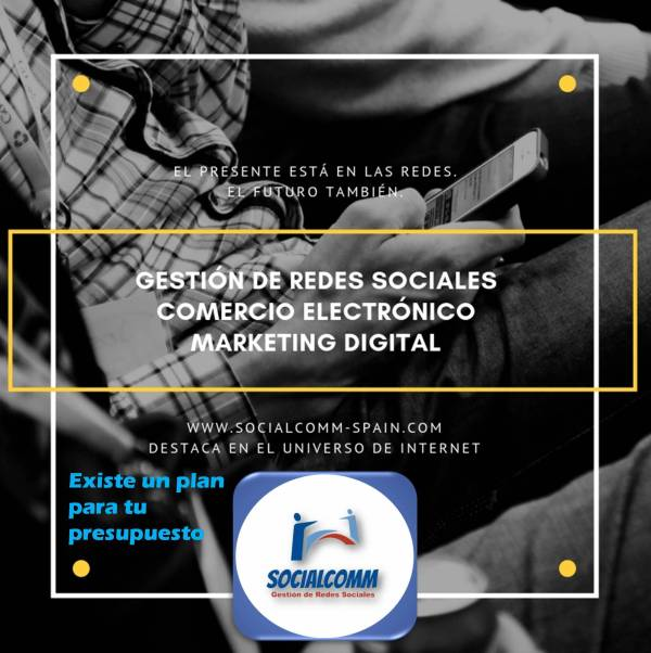 Gestión de Redes | Comercio electrónico | Marketing Digital