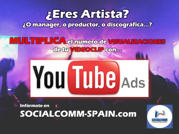 promoción youtube ads