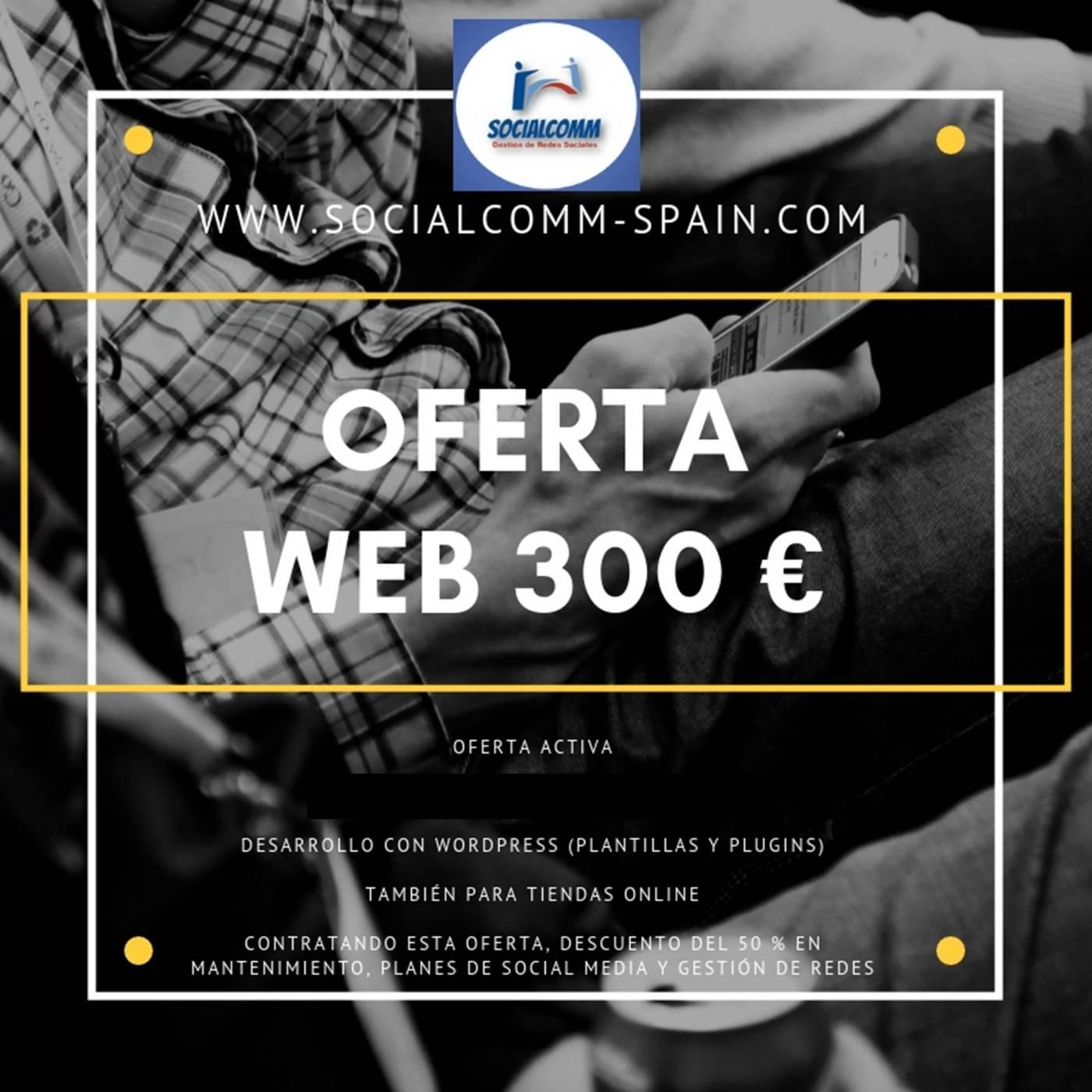oferta web 300 | SocialcoMM